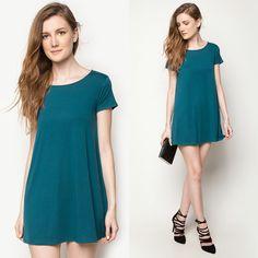 Abba T-Shirt Dress by OnDit Clothing 👗😍😍😍👍👠👟🛍 #womenswear #onditclothing #loosefit #casual #dressy