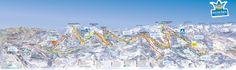 Maria Alm Piste Map (High resolution / .JPEG) #mariaalm #austria #skiing
