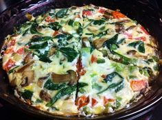 Make-Ahead Baked Eggs with Bacon, Mushrooms & Sage