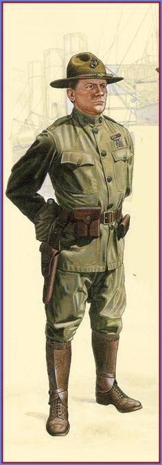 USMC - Major, 5th Regiment, France 1917
