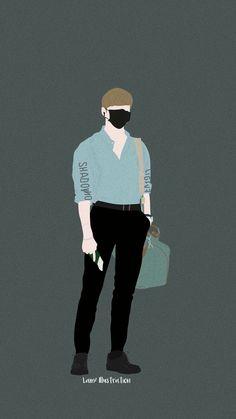 Cute Walpaper, Cosplay Tumblr, Fashion Art, Mens Fashion, Daniel K, Cute Art Styles, Book Cover Art, Kpop Fanart, Galaxy Wallpaper