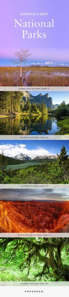 """They don't call it """"America the beautiful"""" for nothing. The US has some seriously incredible national parks, so if you're thinking of planning a vacation, consider doing it in a nature-filled setting."""