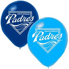 """San Diego Padres 6-Pack 12"""" Latex Balloons - $3.19"""