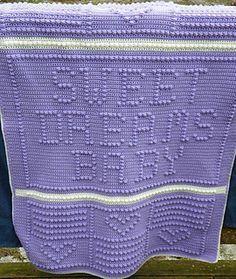 Crochet Heart Baby Girl Blanket Quilt Afghan Shower Personalized Gift Present Custom Pink White Blanket Baby Toddler Kids Nursery Bedding in https://www.etsy.com/shop/KristiTreasures?section_id=20502307