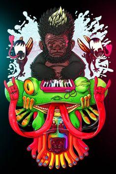 Psychotoons – illustrations by Rafael Aguilar