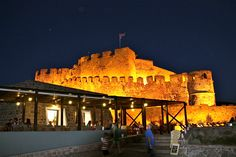 The Castle in Molyvos, Lesvos. Greece
