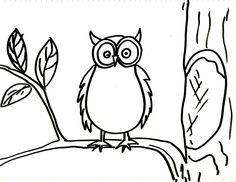 #DibujoBuho #DibujoParaColorear #DibujoFacilParaNiños del #canalDeDibujo para #AprenderADibujar o #AprenderAPintar de #TallerArteLibre https://www.youtube.com/user/exitoparatodos/