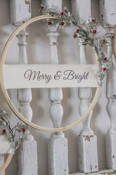 Learn how to create beautiful Christmas Hoop Wreaths to display in your home during the holiday season. The perfect DIY for those of a budget. Dollar Tree Christmas, Christmas Wreaths, Christmas Crafts, Christmas Ornaments, Christmas Christmas, Christmas Wedding, Primitive Christmas, Vintage Christmas, Primitive Snowmen