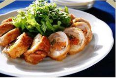 JUNAっちの食卓へようこそ!「お野菜入りやわらかチキンロール」 | お菓子・パンのレシピや作り方【corecle*コレクル】