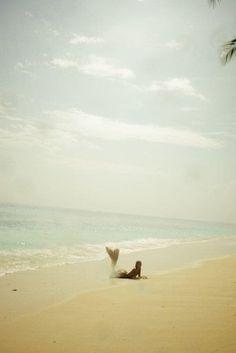 La playa. Creo que se la conoce también como el paraíso.