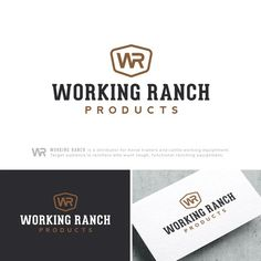 Working Ranch Products - Design a sleek modern logo that targets buyers who want tough durable ranching equipment