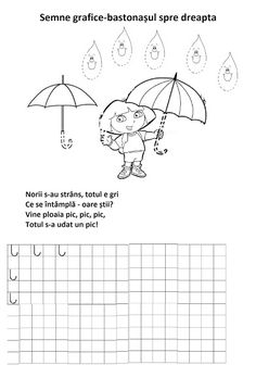 Lumea lui Scolarel...: Bastonașul spre dreapta(semne grafice) Tracing Worksheets, Preschool Worksheets, Sunflower Wall Decor, Montessori, Alphabet, Teacher, Fine Motor, Kids