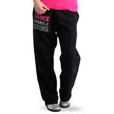 Dance Sparkle Shine Sweatpants by Luv Dance