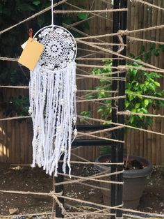 Dreamcatcher by The Art Box by Divya.. https://www.facebook.com/theartboxbydivya.. contact 09780030510