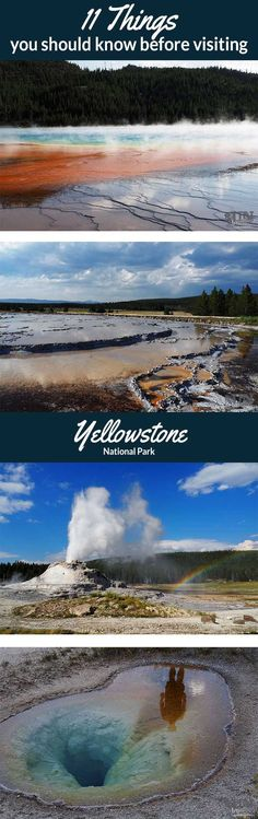 The Yellowstone National Park is often underestimated in a few things.