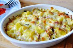 Cartofi cu mozzarella la cuptor - Retete Timea