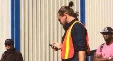 Leonardo DiCaprio in Fort McMurray.