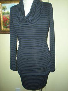 Fall Ready Ruched Stripe Cowl Neck Dress Red Haute sz XS $29.99 NWT  http://cgi.ebay.com/ws/eBayISAPI.dll?ViewItem=300746071834=STRK:MESE:IT