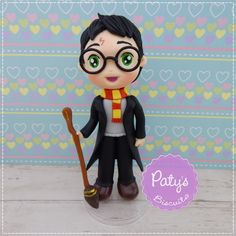 Miniatura Harry Potter - Paty's Biscuit