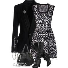 """Rebecca Taylor Dress"" by arjanadesign on Polyvore"