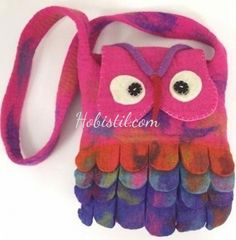 Wool Accessories for Girls Felt Fairy, Girls Accessories, Wool Felt, Arts And Crafts, Vibrant, Handmade, Bags, Fictional Characters, Totes