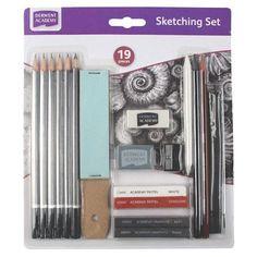 Derwent Academy Sketching Set, $12 !!