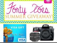 Enter To Win: WIN a 2300 dollar visa gift card or a Nikon D300 with a 50 MM lens! Sheyla just entered to win WIN a 2300 dollar visa gift card or a Nikon D300 with a 50 MM lens! & you can too.