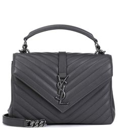cff2769f35 SAINT LAURENT Collège Monogram Medium leather shoulder bag.  saintlaurent   bags  shoulder bags
