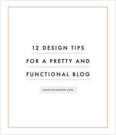 Blogging Tips, Resources, Tricks, and Strategies | ShaniceCameron.com Blog