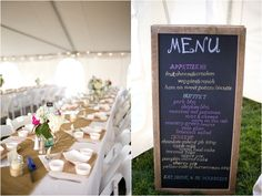 BBQ menu for wedding dinner