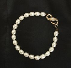 Tiffany & Co. Infinity Freshwater Pearl Bracelet. Get the lowest price on Tiffany & Co. Infinity Freshwater Pearl Bracelet and other fabulous designer clothing and accessories! Shop Tradesy now