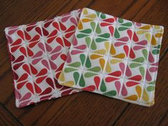 Quilted Coasters for Beginners is a very easy quilting project for newbies like me!