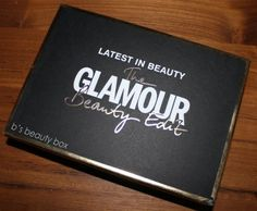 glamour BEauty Edit Box; £15 contents worth £65!!