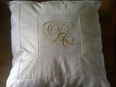 Custom Wedding Pillow