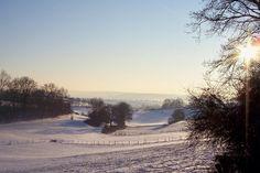 Mooi winterlandschap