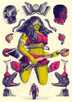 Space Cowboy on Behance