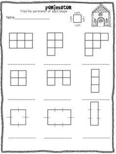 Area and Perimeter Freebie | Geometry & Measurement | Pinterest ...