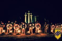 """Факельное шествие неонацистов """"Азова"""" накануне выборов в Мариуполе"""