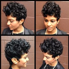Levels. @sorayahstyles | #thecutlife #shorthair #curls #curlyhair #style #beauty #stunner ✂️ #Padgram