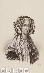 Ritratto di Maria Amalia di Borbone (Maria Amalia Teresa, nata principessa delle Due Sicilie)