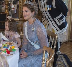 """On February 22, 2016, Princess Madeleine held a party with the theme of """"Fairytale"""" (Sagokalas) for Min Stora Dag at the Royal Palace. 12 children between the ages of 5-8 coming from all over the country attended the """"Fairytale"""" (Sagokalas) party with princess outfits."""