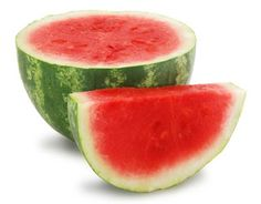 Watermelon gets its red color from lycopene, and one wedge has about 13 mg of the antioxidant. Watermelon is also a great choice because it's one of the clean 15 fruits and vegetables low in pesticide residue. Spiked Watermelon, Frozen Watermelon, Sweet Watermelon, Watermelon Recipes, Watermelon Salad, Watermelon Health Benefits, Vodka, Detox Cleanse For Weight Loss, Juicer Recipes