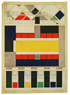 Theo van Doesburg | Envisioning Architecture (MoMA, New York, 2002) | 1927: 67 | RNDRD