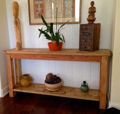 Handcrafted Console Table by BorboletaDecors on Etsy