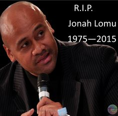 Jonah Lomu a legend in his own right.  1975 - 20015  http://aneisdevida.co.za