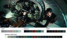 Paleta de colores El gran gatsby