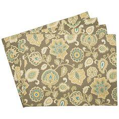 Sheffield Home Protective Decorative Cloth Placemats (Set of 4) (Beige Flower) Sheffield Home http://www.amazon.com/dp/B00QHBAPJC/ref=cm_sw_r_pi_dp_If7Vvb1M09XMM