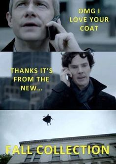 "This fashionable pun. | 33 ""Sherlock"" Puns That Will Tickle Your Punny Bone NO NO NOT OKAY NOPE BYE"
