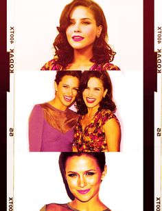 Sophia Bush (Brooke Davis-Baker) & Shantel VanSanten (Quinn James) - One Tree Hill