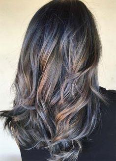 Цвета Джинсовый волос: Деним на Лысой Выметание кожи
